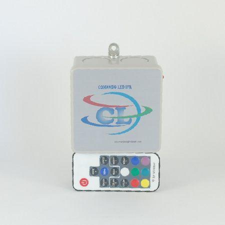 Comando LED RGB 30W Controle RF