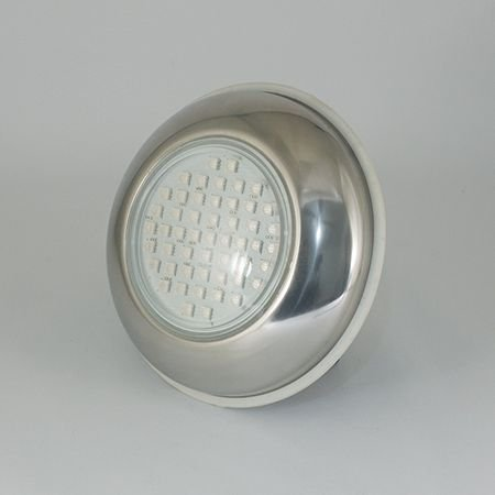 Refletor Power LED SMD 9W Inox Brustec