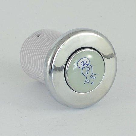 Acionador Pneumático Cromado Jacuzzi (Botão)