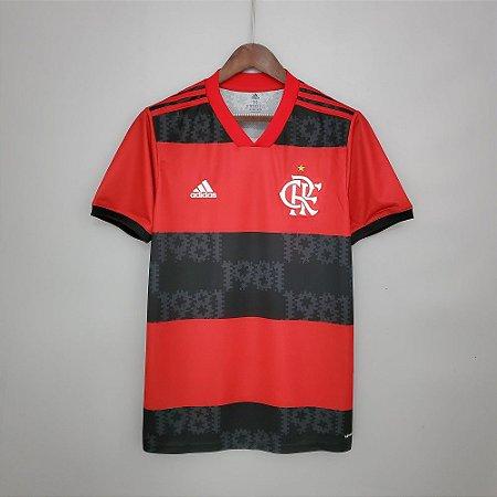 Camisa Flamengo 2021 (Uniforme 1) - Modelo Torcedor (sem patrocínios)