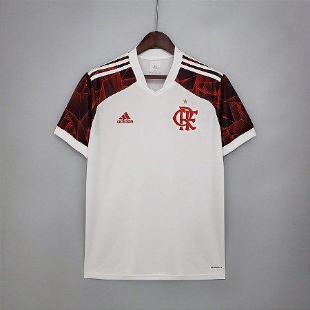 Camisa Flamengo 2021-22 (Uniforme 2) - Modelo Torcedor (sem patrocínios)