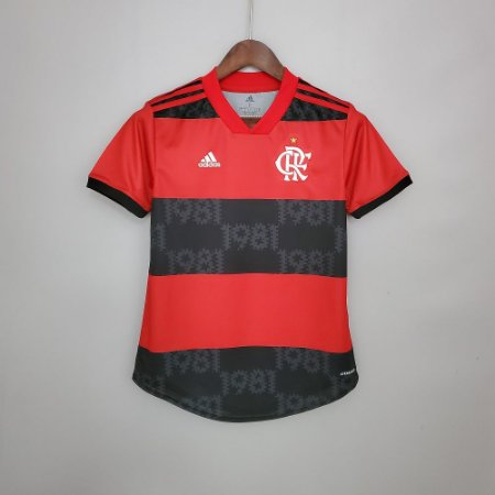 Camisa Flamengo 2021  (Home-Uniforme 1)  - Feminina