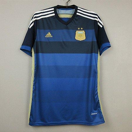 Camisa Argentina 2014  (Away-Uniforme 2)