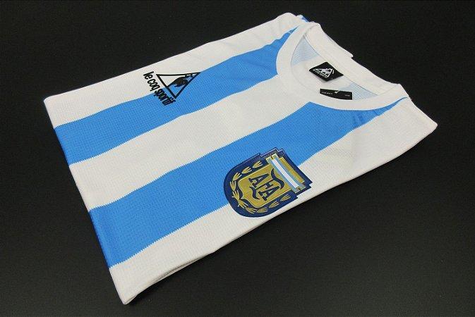 Camisa Argentina 1986 (Home-Uniforme 1) - Modelo Jogador