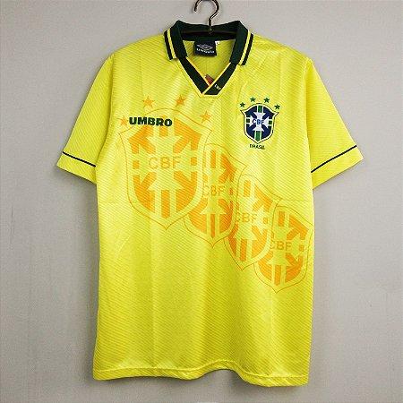 Camisa Brasil  1994  4 estrelas (Home-Uniforme 1)