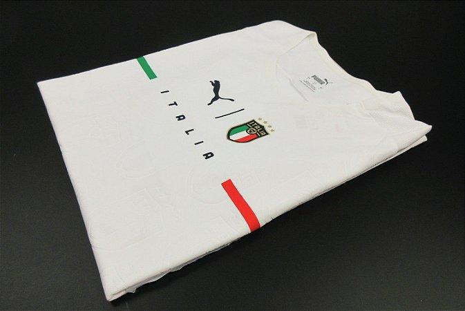 Camisa Itália 2021-22 (Away-Uniforme 2) - Modelo Jogador