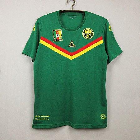Camisa Camarões 2021 (Home-Uniforme 1)