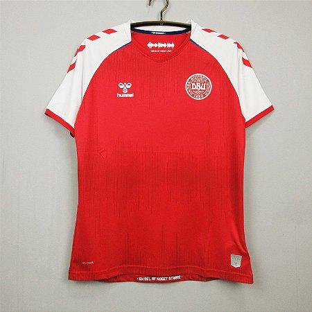Camisa Dinamarca 2020-21 (Home-Uniforme 1)