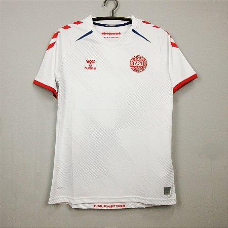 Camisa Dinamarca 2020-21 (Away-Uniforme 2)
