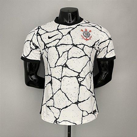 Camisa Corinthians 2021-22 (Uniforme 1) - Modelo Jogador (sem patrocínios)