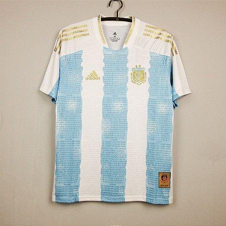 Camisa Argentina 2021 - Edição Especial (Maradona)