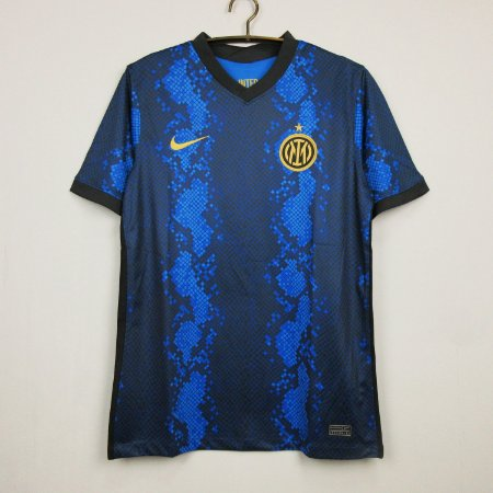 Camisa Internazionale 2021-22 (Home-Uniforme 1)