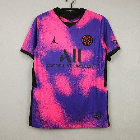 Camisa Paris Saint Germain 2020-21  (Fourth-Uniforme 4)