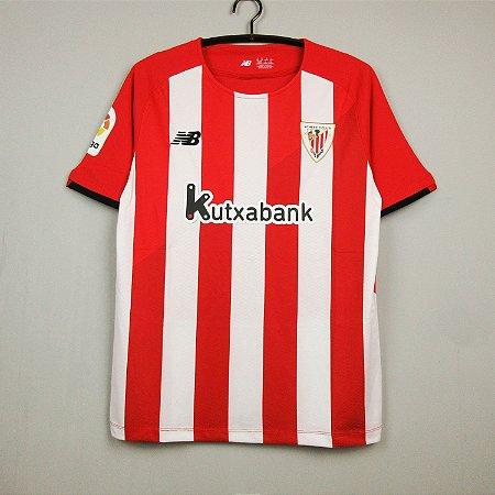 Camisa Athletic Bilbao 2021-22 (Home-Uniforme 1)
