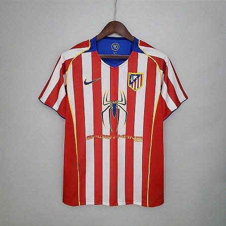 Camisa Atlético de Madrid 2004-2005 (Home-Uniforme 1)