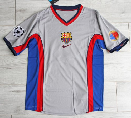 Camisa Barcelona 1999-2000 (Away-Uniforme 2)