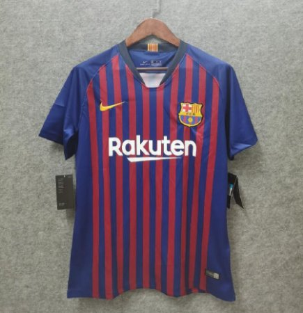 Camisa Barcelona 2018-2019 (Home-Uniforme 1)