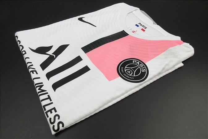 """Camisa Paris Saint Germain """"PSG"""" 2021-22 (Away-Uniforme 2) - Modelo Jogador"""
