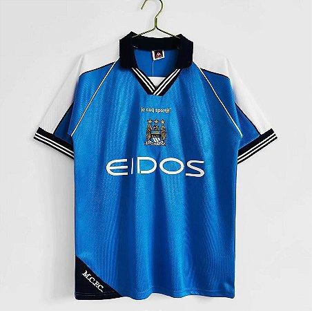 Camisa Manchester City 1999-2001 (Home-Uniforme 1)