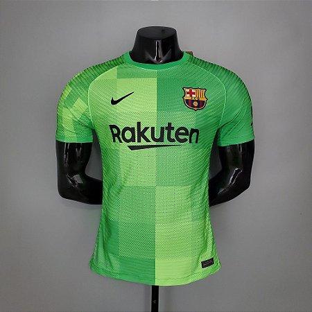 Camisa Barcelona 2021-22 (goleiro) - Modelo Jogador