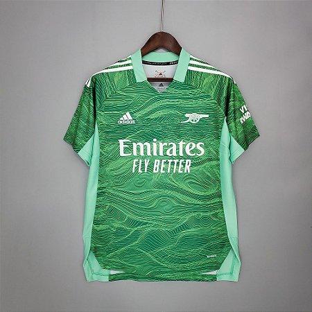 Camisa Arsenal 2021-22 (goleiro)