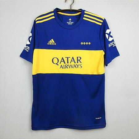 Camisa Boca Juniors 2021-22 (Home-Uniforme 1)
