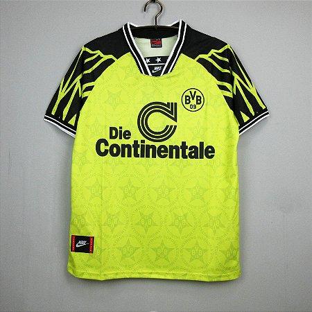 Camisa Borussia Dortmund 1994-1995 (Home-Uniforme 1)