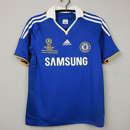 Camisa Chelsea 2007-2008 (Home-Uniforme 1) - Final UCL