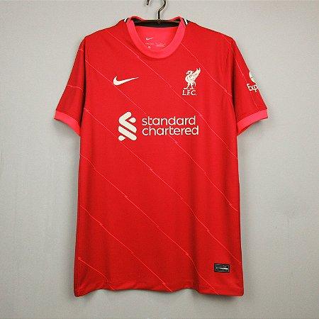 Camisa Liverpool 2021-22 (Home-Uniforme 1)