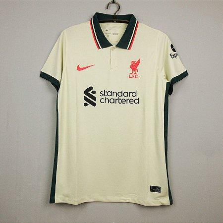 Camisa Liverpool 2021-22 (Away-Uniforme 2)