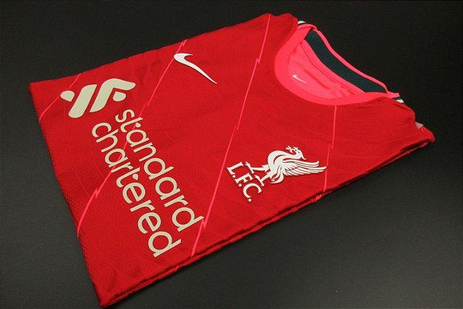 Camisa Liverpool 2021-22 (Home-Uniforme 1) - Modelo Jogador