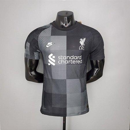 Camisa Liverpool 2021-22 (Third-Uniforme 3) - Goleiro - Modelo Jogador