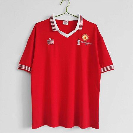 Camisa Manchester United 1977 (Home-Uniforme 1)