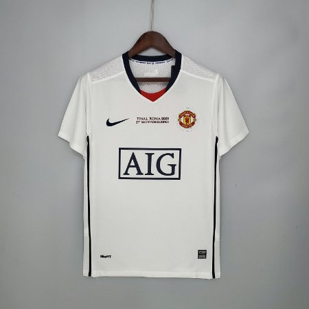 Camisa Manchester United  (Away-Uniforme 2) - Final UCL 2008-2009