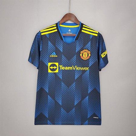 Camisa Manchester United 2021-22 (Third-Uniforme 3)