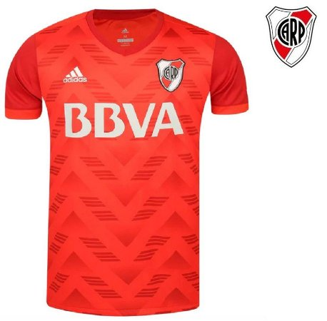 54c1b3ae6 Camisa River Plate 2017-18 (Away-uniforme 2) - Climacool - ACERVO ...