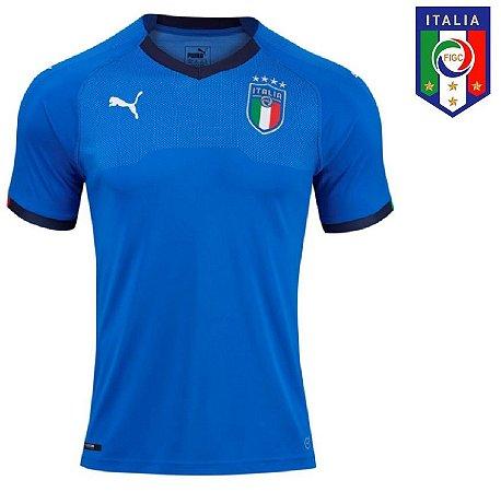 Camisa Itália 2018 (Home - Uniforme 1) - ACERVO DAS CAMISAS ece1dbc45b36f