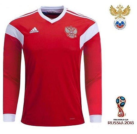 fd4ee4ba3 Camisa Rússia 2018 (Home- uniforme 1) – Climalite
