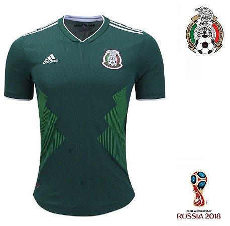 1ef7a4c3a Camisa México 2018 (Home-Uniforme 1) - Climachill