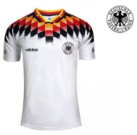 17adb0701 Camisa Alemanha Copa do Mundo 1994 (Home- uniforme 1) - ACERVO DAS ...