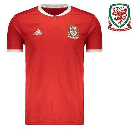 Camisa País de Gales 2018 (Home - Uniforme 1) - ACERVO DAS CAMISAS ff5084074fe6d
