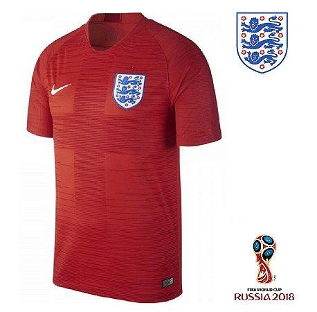 58c685ec0 Camisa Inglaterra 2018 (Away-Uniforme 2) -