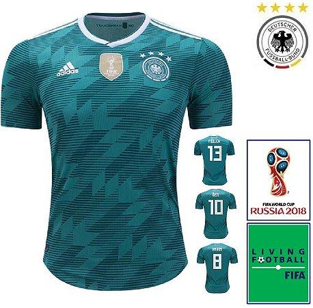 Camisa Alemanha 2018-19 (Away-Uniforme 2) - Climachill