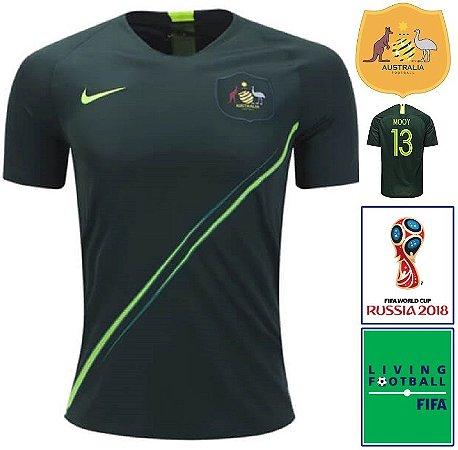 0182f7f29 Camisa Austrália 2018-19 (Away-Uniforme 2) -