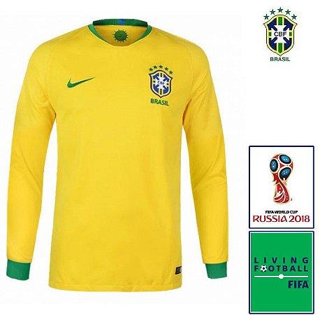Camisa Brasil 2018-19 (Home-Uniforme 1) -