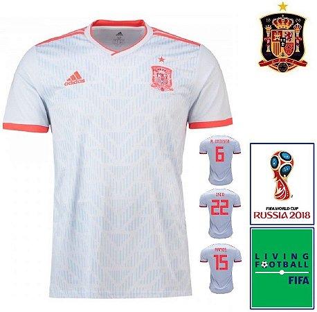 Camisa Espanha 2018-19 (Away-Uniforme 2) - Climachill