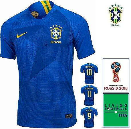 8ec3a9886163d Camisa Brasil 2018-19 (Away-Uniforme 1) -