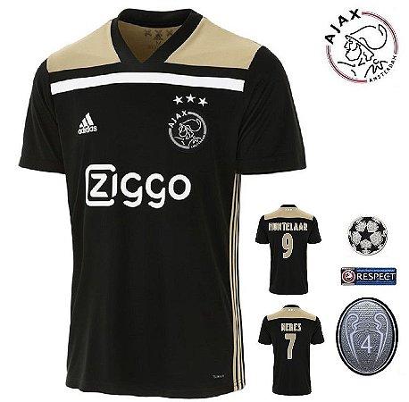 fad00a2b88115 Camisa Ajax 2018-19 (Away-Uniforme 2) -