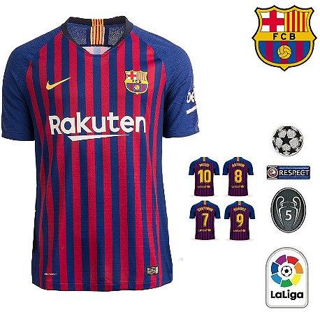 8e85148933 Camisa Barcelona 2018-19 (Home-Uniforme 1) -