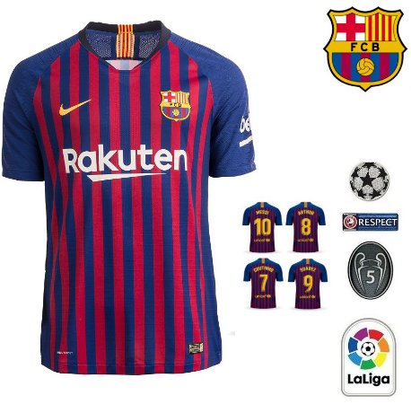 Camisa Barcelona 2018-19 (Home-Uniforme 1) -